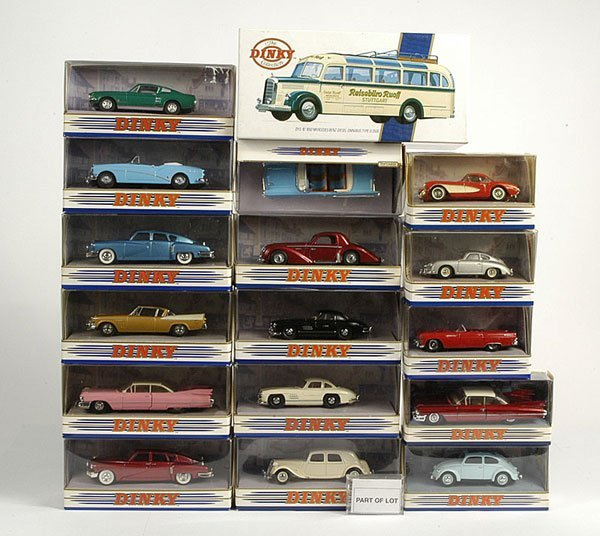 2023: Matchbox Dinky European and American Cars