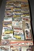 2108 A Group of Chevrolet Corvette Plastic Car Kits