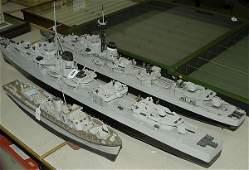 2295: A Group of Scratchbuilt Naval Ships