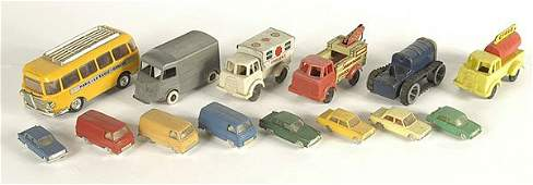 2453 A Group of Tinplate  Plastic Commercials