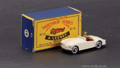 2688: Matchbox No.19b MGA Sports Car