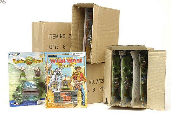 4006: Britains - Deetail Wild West Range