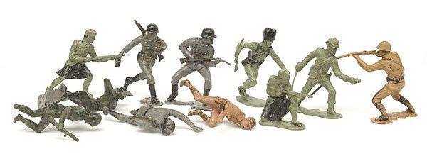 """4009: Marx - 5"""" [12.5cm] Plastic Action Figures"""
