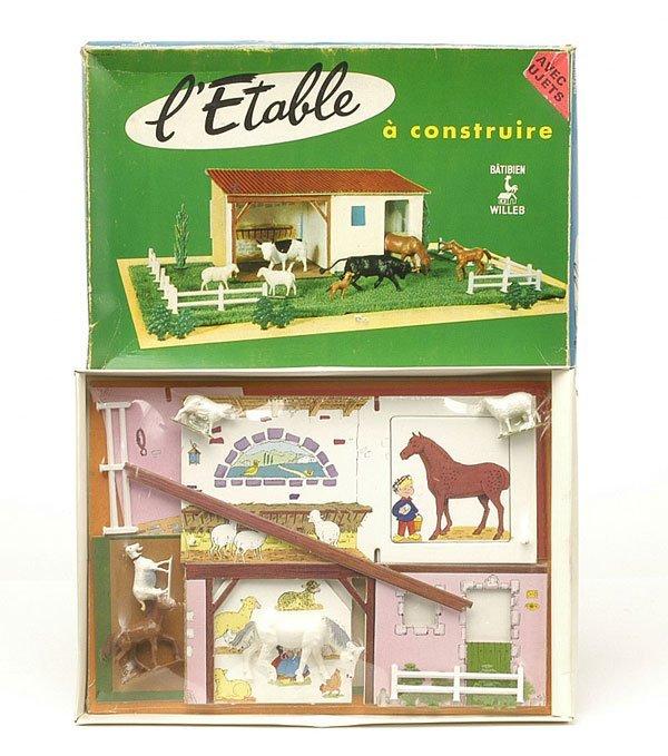 4019: Batiben [France]-Set 1772-L'Etable [The Stable]
