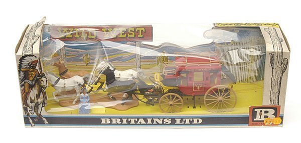 4021: Britains - Wild West - Set 7615 - Stage Coach