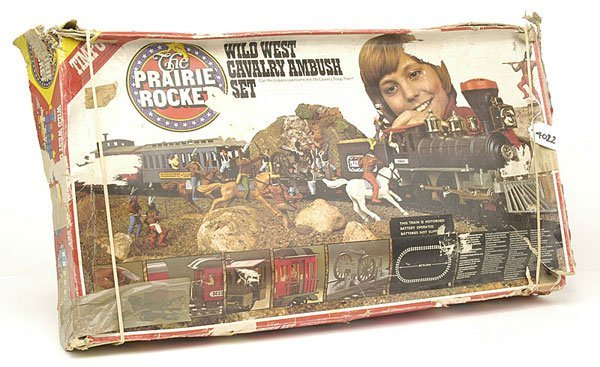 4022: Timpo - Wild West Set 245 - Cavalry Ambush Set