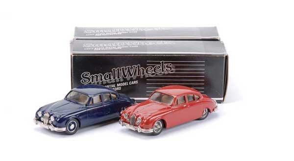 2005: Smallwheels - A Pair of 1962 Jaguar Mk.2