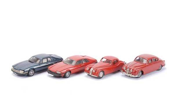 2011: Western Models - A Group of 4 x Jaguars