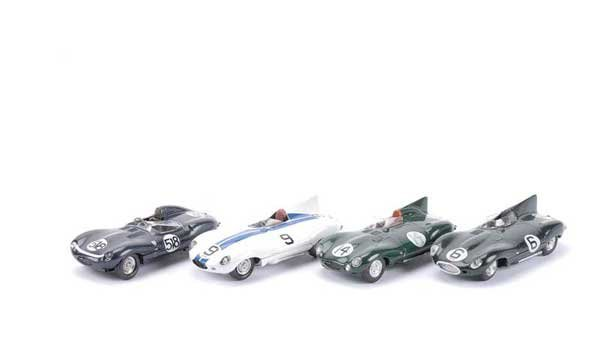 2012: Provence Moulage - A Group of 4 x Jaguars