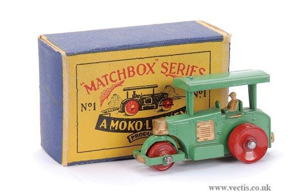 2: Matchbox No.1a Aveling Barford Road Roller