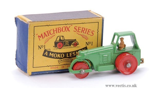3: Matchbox No.1b Aveling Barford Road Roller