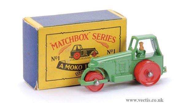 4: Matchbox No.1b Aveling Barford Road Roller