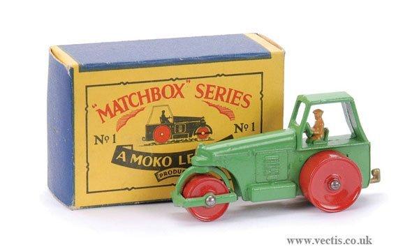 5: Matchbox No.1b Aveling Barford Road Roller