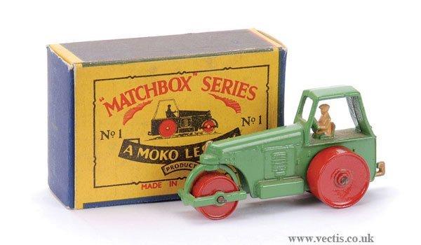 6: Matchbox No.1b Aveling Barford Road Roller