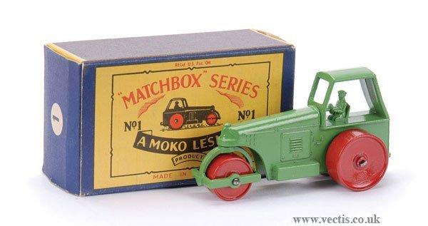 7: Matchbox No.1c Aveling Barford Road Roller