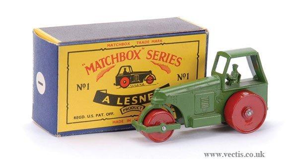 10: Matchbox No.1c Aveling Barford Road Roller