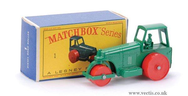11: Matchbox No.1d Aveling Barford Road Roller