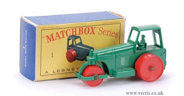 12: Matchbox No.1d Aveling Barford Road Roller