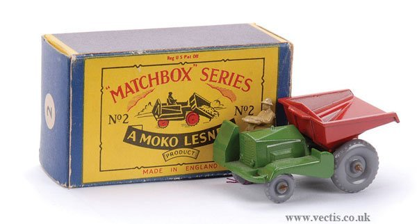 21: Matchbox No.2b Site Dumper