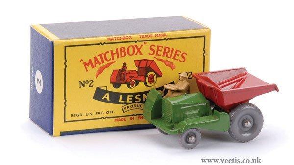 22: Matchbox No.2b Site Dumper