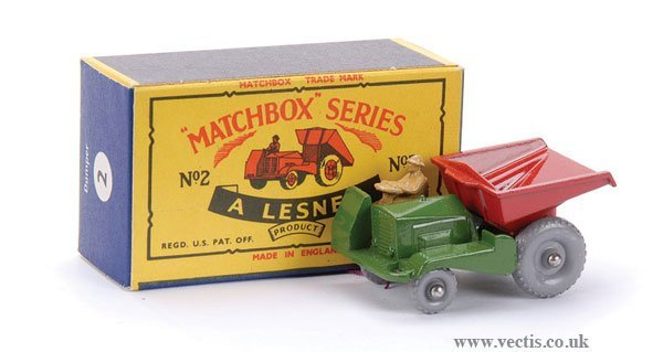 24: Matchbox No.2b Site Dumper