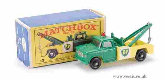 """263: Matchbox No.13d Dodge Wreck Truck """"BP"""""""