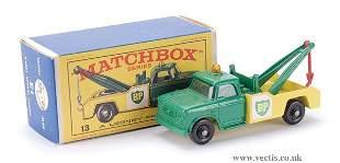 """270: Matchbox No.13d Dodge Wreck Truck """"BP"""""""