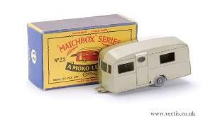 487: Matchbox No.23b Berkeley Cavalier Caravan