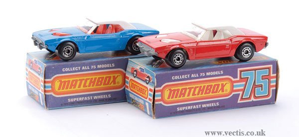 734: Matchbox Superfast No.1 Dodge Challenger