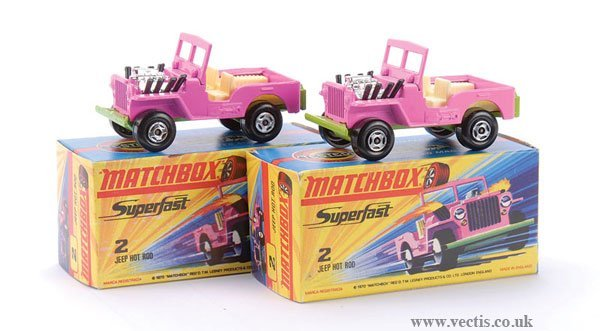 735: Matchbox Superfast No.2 Jeep Hot Rod