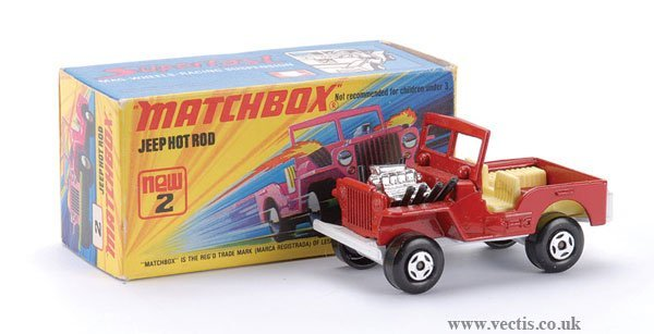 736: Matchbox Superfast No.2 Jeep Hot Rod