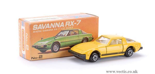 739: Matchbox Superfast No.2 Mazda Sabanna RX7