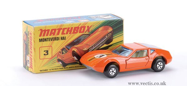 744: Matchbox Superfast No.3 Monteverdi Hai