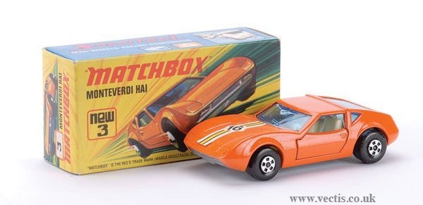 745: Matchbox Superfast No.3 Monteverdi Hai