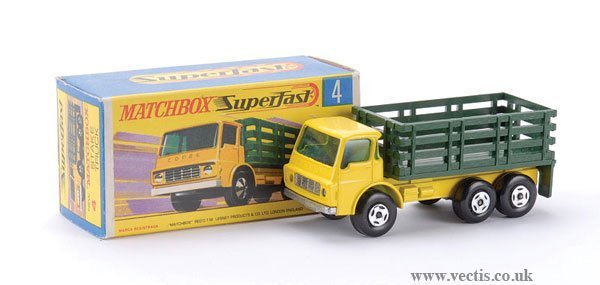 747: Matchbox Superfast No.4 Dodge Stake Truck