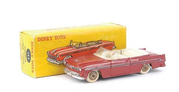 1418: French Dinky No.24A Chrysler New Yorker