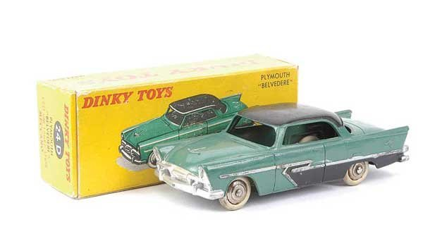 1419: French Dinky No.24D Plymouth Belvedere