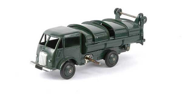 1431: French Dinky No.25V Ford Refuse Tipper