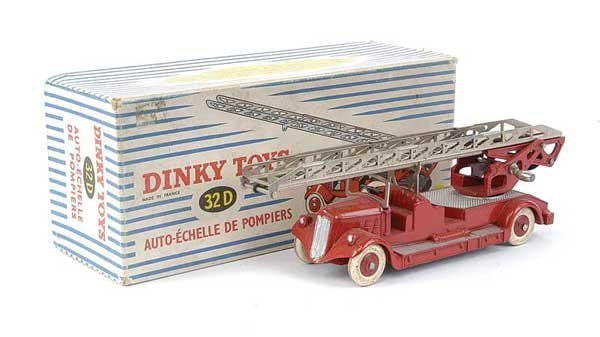1433: French Dinky No.32D Delahaye Fire Escape