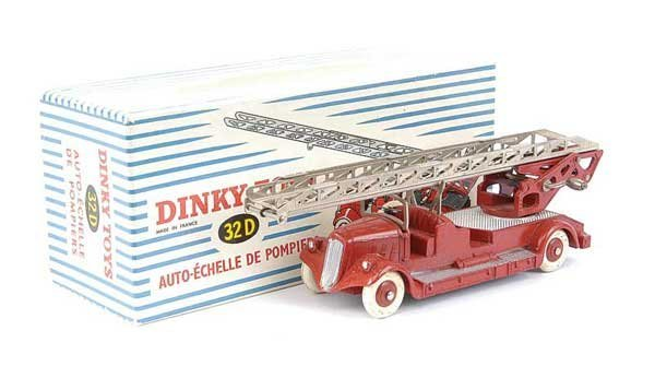 1434: French Dinky No.32D Delahaye Fire Escape