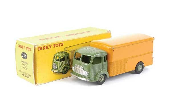 1435: French Dinky No.34A Simca Cargo Van