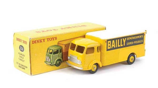 "1436: French Dinky No.33A ""Bailly"" Simca Van"