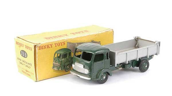 1437: French Dinky No.33B Simca Cargo Tipper Truck
