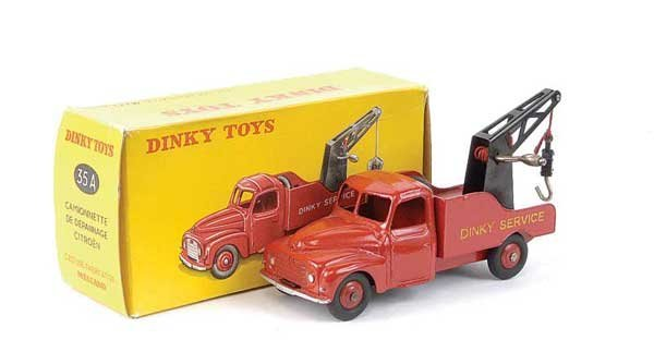 1441: Dinky No.35A Citroen Breakdown Lorry
