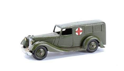 1605: Dinky No.30F S. African Military Ambulance