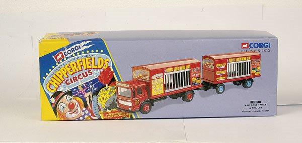 4003: Corgi Classics No.97889 Cage Truck & Trailer