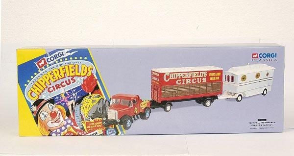 4010: Corgi Classics No.97885 Truck, Trailer & Caravan