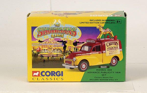 4019: Corgi Classics No.06601 Morris Publicity Van