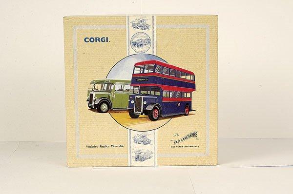 """4023: Corgi Classics No.97077 """"East Lancs"""" Gift Set"""