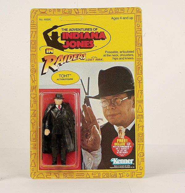 "4055: Kenner ""Indiana Jones"" Toht Action Figure"